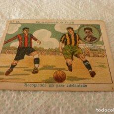 Cromos de Fútbol: (LLL)-CROMO 1922 CHOCOLATE AMATLLER - UN CAMPEONATO DE FUTBOL Nº: 22. Lote 182454597