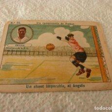 Cromos de Fútbol: (LLL)-CROMO 1922 CHOCOLATE AMATLLER - UN CAMPEONATO DE FUTBOL Nº: 23. Lote 182454637