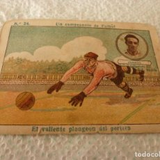 Cromos de Fútbol: (LLL)-CROMO 1922 CHOCOLATE AMATLLER - UN CAMPEONATO DE FUTBOL Nº: 24. Lote 182454672