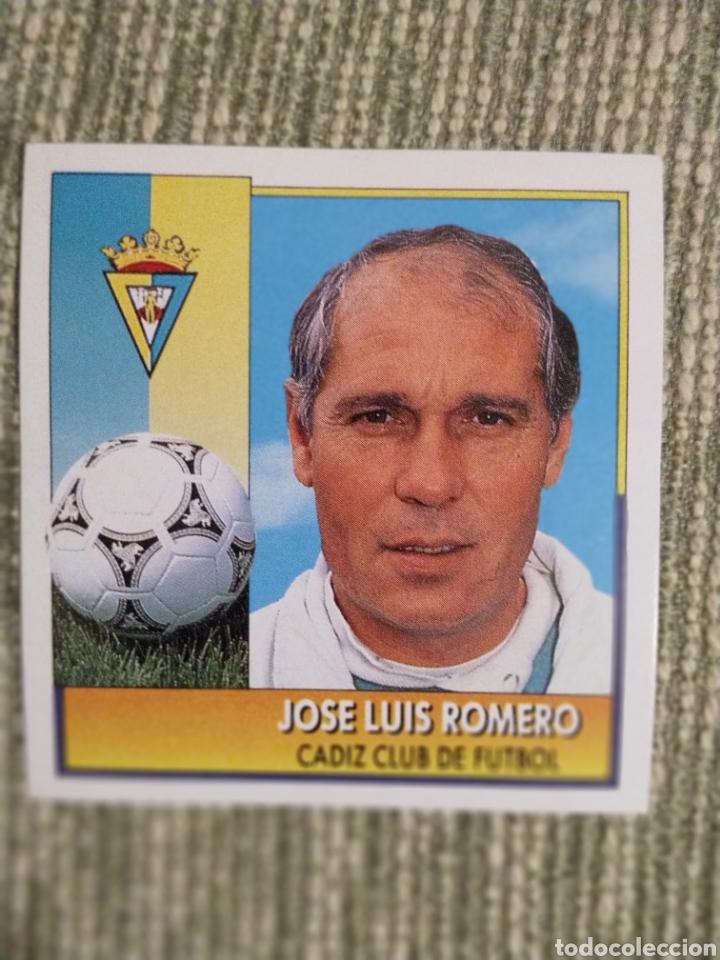 CROMO COLOCA JOSE LUIS ROMERO LIGA ESTE 92 93 (Coleccionismo Deportivo - Álbumes y Cromos de Deportes - Cromos de Fútbol)