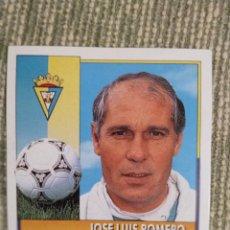 Cromos de Fútbol: CROMO COLOCA JOSE LUIS ROMERO LIGA ESTE 92 93. Lote 182547595