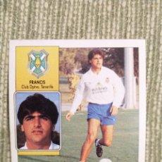 Cromos de Fútbol: CROMO BAJA FRANCIS LIGA ESTE 1992 1993 92 93. Lote 182549066