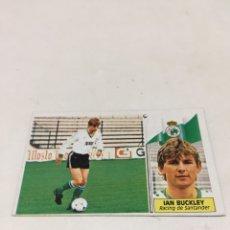 Cromos de Fútbol: LIGA 86/87 EDICIONES ESTE IAN BUCKLEY. Lote 182618373