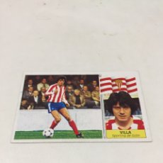 Cromos de Fútbol: LIGA 86/87 EDICIONES ESTE. VILLA. Lote 182619748