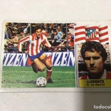 Cromos de Fútbol: EDICIONES ESTE. LIGA 86/87. LLORENTE. Lote 182621692