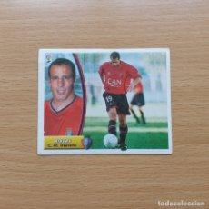 Cromos de Fútbol: RIVERO C AT OSASUNA EDICIONES ESTE 2003 2004 LIGA 03 04 SIN PEGAR NUNCA PEGADO. Lote 182645276