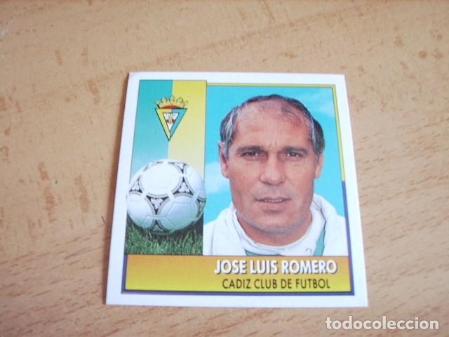 ESTE 92-93 COLOCA JOSE LUIS ROMERO NUEVO SIN PEGAR (Coleccionismo Deportivo - Álbumes y Cromos de Deportes - Cromos de Fútbol)