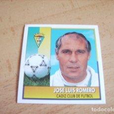 Cromos de Fútbol: ESTE 92-93 COLOCA JOSE LUIS ROMERO NUEVO SIN PEGAR. Lote 182717295