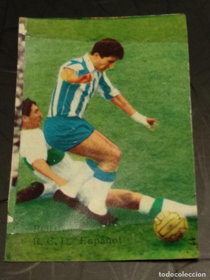 RODILLA ESPAÑOL FHER DISGRA 65 66 1965 1966 RECUPERADO (Coleccionismo Deportivo - Álbumes y Cromos de Deportes - Cromos de Fútbol)