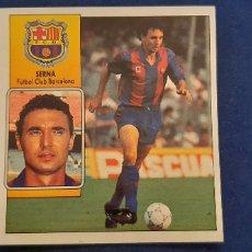 Cromos de Fútbol: 92/93 ESTE. NUNCA PEGADO BARCELONA SERNA. Lote 182746705