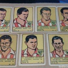 Cromos de Fútbol: CROMOS DE JUGADORES DE FUTBOL ATLETICO DE BILBAO. ASES DEL FUTBOL 1941. Lote 182750312