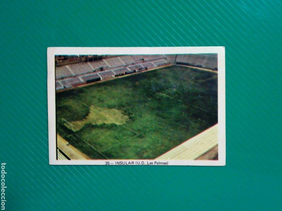(SIN PEGAR NUNCA) FHER LIGA 73 - 74 : INSULAR (U.D. LAS PALMAS) 1973 1974 - CROMO CAMPEONATO DE LIGA (Coleccionismo Deportivo - Álbumes y Cromos de Deportes - Cromos de Fútbol)