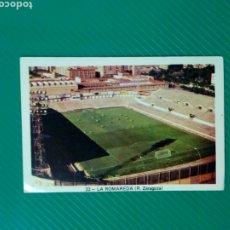 Cromos de Fútbol: (SIN PEGAR NUNCA) FHER LIGA 73 - 74 : LA ROMAREDA (R. ZARAGOZA) 1973 1974 - CROMO CAMPEONATO LIGA. Lote 182788528