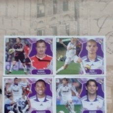 Cromos de Fútbol: LOTE DE 5 CROMOS DEL REAL MADRID LIGA 08/09 SIN PEGAR. Lote 182847146