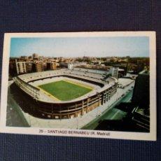 Cromos de Fútbol: (SIN PEGAR NUNCA) FHER LIGA 73 - 74: 29 - SANTIAGO BERNABEU (R. MADRID) 1973 1974 - CAMPEONATO LIGA. Lote 182869537