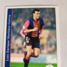 Figurine di Calcio: MUNDICROMO LAS FICHAS DE LA LIGA 2002 LUIS ENRIQUE Nº 74 BARCELONA. Lote 182995691