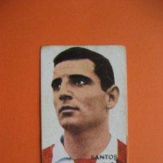 Cromos de Fútbol: CROMO: SANTOS - GRANADA C.F. - FHER / DISGRA 1968/69 CAMPEONATO DE LIGA . Lote 183234300