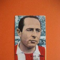 Cromos de Fútbol: CROMO: RUIZ SOSA - GRANADA C.F. - FHER / DISGRA 1968/69 CAMPEONATO DE LIGA . Lote 183234416