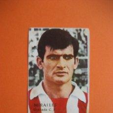 Cromos de Fútbol: CROMO: MIRALLES - GRANADA C.F. - FHER / DISGRA 1968/69 CAMPEONATO DE LIGA . Lote 183234451
