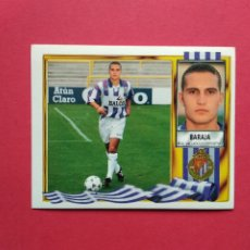 Cromos de Fútbol: CROMOS EDICIONES ESTE LIGA 95 96 1995 1996 CROMO NUNCA VERSION DOBLE IMAGEN BARAJA VALLADOLID. Lote 183362941