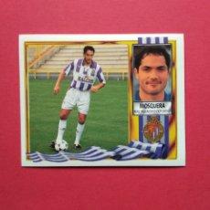 Cromos de Fútbol: CROMOS EDICIONES ESTE LIGA 95 96 1995 1996 CROMO NUNCA VERSION DOBLE IMAGEN MOSQUERA VALLADOLID. Lote 183362977