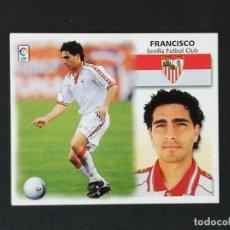 Cromos de Fútbol: SEV FRANCISCO SEVILLA 1999 2000 99 00 ESTE NUEVO SIN PEGAR. Lote 183394988