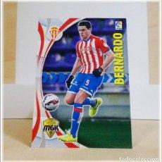 Cromos de Fútbol: MEGACRACKS 2015 2016 15 16 PANINI. BERNARDO Nº 466 (SPORTING GIJON) CROMO LIGA FÚTBOL MEGA CRACKS. Lote 183395126