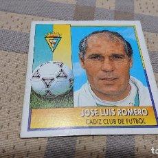 Cromos de Fútbol: ED.ESTE LIGA 92 /93 JOSÉ LUIS ROMERO COLOCA SIN PEGAR. Lote 183522161