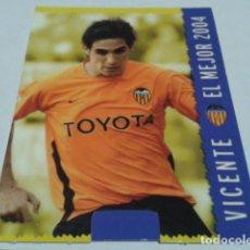 Cromos de Fútbol: CROMO FICHAS MAGIC DE LA LIGA 2004 - 05 ( VICENTE )Nº 546 VALENCIA C.F. MUNDICROMO 2005 . Lote 183529848