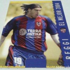 Cromos de Fútbol: CROMO FICHAS MAGIC DE LA LIGA 2004 - 05 ( REGGI - EL MEJOR )Nº 563 LEVANTE MUNDICROMO 2005 . Lote 183529948