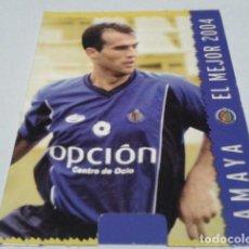 Cromos de Fútbol: CROMO FICHAS MAGIC DE LA LIGA 2004 - 05 ( AMAYA )Nº 564 GETAFE MUNDICROMO 2005 . Lote 183530175
