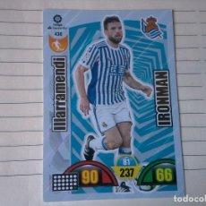Cromos de Fútbol: ADRENALYN 2017-2018 IRONMAN Nº 430 ILLARRAMENDI REAL SOCIEDAD CROMO PANINI FUTBOL. Lote 183530243