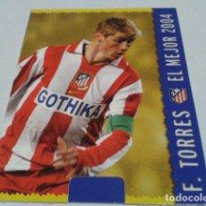 Cromos de Fútbol: CROMO FICHAS MAGIC DE LA LIGA 2004 - 05 ( FERNANDO TORRES ) Nº 552 AT. MADRID MUNDICROMO 2005 . Lote 183530338