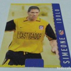 Cromos de Fútbol: CROMO FICHAS MAGIC DE LA LIGA 2004 - 05 ( SIMEONE ) Nº 189 AT. MADRID MUNDICROMO 2005 . Lote 183530357
