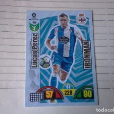 Cromos de Fútbol: ADRENALYN 2017-2018 IRONMAN Nº 426 LUCAS PEREZ CORUÑA CROMO PANINI FUTBOL. Lote 183530378