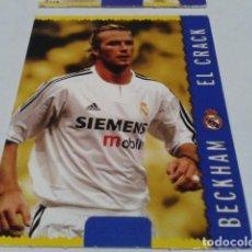 Cromos de Fútbol: CROMO FICHAS MAGIC DE LA LIGA 2004 - 05 ( BECKHAM - EL CRACK ) Nº 569 REAL MADRID MUNDICROMO 2005 . Lote 183530386