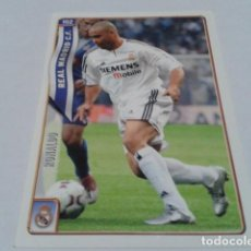 Cromos de Fútbol: CROMO FICHAS DE LA LIGA 2004 - 05 ( RONALDO ) Nº 102 REAL MADRID MUNDICROMO 2005 . Lote 183530993