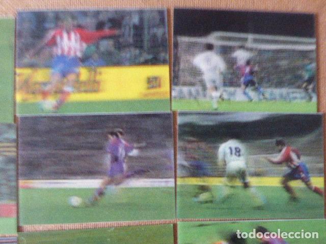 Cromos de Fútbol: LOTE DE 12 CROMOS VIDEO-CARDS LIGA 96-97. PANINI. NUMS: 1-2-3-5-8-9-11-15-16-17-37 Y 39. - Foto 2 - 183543067