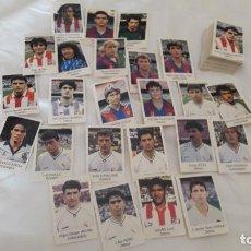 Cromos de Fútbol: LOTAZO DE 130 CROMOS SIN PEGAR ,LIGA 1991-92 DE BIMBO. Lote 183662352
