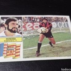 Cromos de Fútbol: ESTE LIGA 82/83...BAJA.. PEREIRA.. VALENCIA.. RECUPERADO.... Lote 183746661