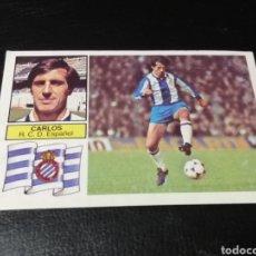 Cromos de Fútbol: ESTE LIGA 82/83..BAJA.. CARLOS... ESPAÑOL... RECUPERADO.... Lote 183774148