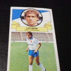 Cromos de Fútbol: ESTE LIGA 85 /86.. COLOCA.. LATAPIA.. REAL ZARAGOZA.. RECUPERADO.... Lote 183776017