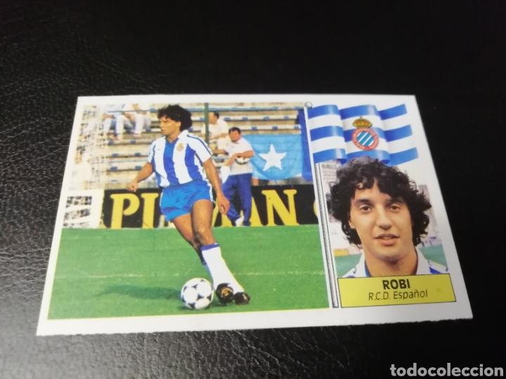 ESTE LIGA 86 /87... COLOCA... ROBI.. ESPAÑOL.. NUNCA PEGADO.. NUEVO... (Coleccionismo Deportivo - Álbumes y Cromos de Deportes - Cromos de Fútbol)