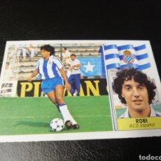 Cromos de Fútbol: ESTE LIGA 86 /87... COLOCA... ROBI.. ESPAÑOL.. NUNCA PEGADO.. NUEVO.... Lote 183777372