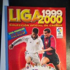 Cromos de Fútbol: PANINI SPORTS LIGA 1999/2000 ALBUM PLANCHA NUEVO A ESTRENAR . Lote 183817806