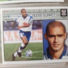 Cromos de Fútbol: EDICIONES ESTE 2001 2002 ALBUN ALBUM 01 02 NUEVO DE SOBRE TENERIFE SUAREZ. Lote 197722542