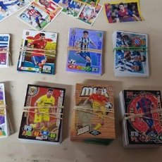Cromos de Fútbol: GRAN LOTE DE 438 CROMOS, MGK, LIGA, UEFA CHAMPIONS LEAGUE, ADRENALYN, EURO.. Lote 183938727
