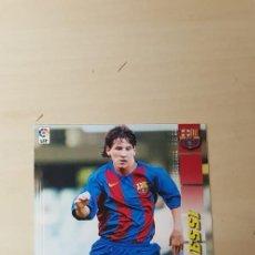 Cromos de Fútbol: CROMO LEO MESSI PANINI MEGA CRACKS 2004-05 71 BIS. Lote 183940127