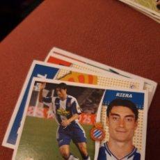 Cromos de Futebol: ESTE 06 07 2006 2007 SIN PEGAR ESPAÑOL RIERA. Lote 183953173
