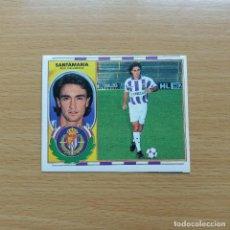 Cromos de Fútbol: SANTAMARIA REAL VALLADOLID EDICIONES ESTE 1996 1997 LIGA 96 97 SIN PEGAR NUNCA PEGADO. Lote 184089773